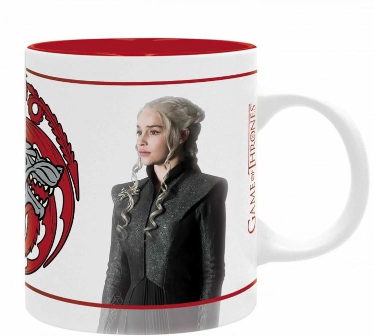 Hrnek Hra o Trůny (Game of Thrones) - Jon & Daenerys