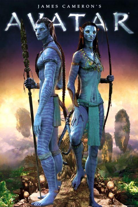 Plakát, Obraz - Avatar limited ed. - couple, (61 x 91,5 cm)