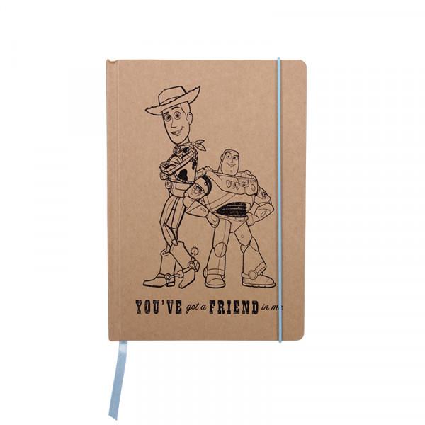 Toy Story: Příběh hraček - Woody and Buzz A5 Zápisník