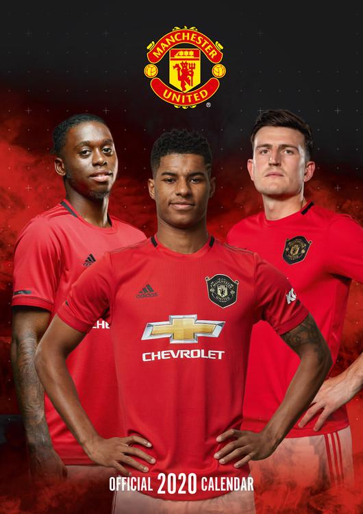 Kalendář 2020 Manchester United FC