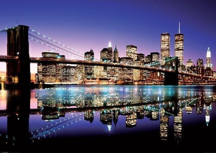 Plakát, Obraz - New York - colours, (140 x 100 cm)
