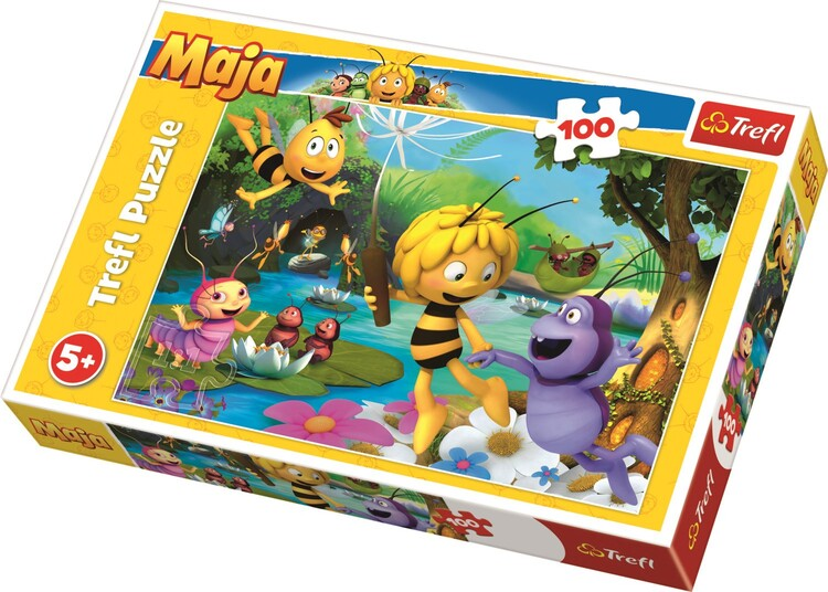 Puzzle Včelka Mája