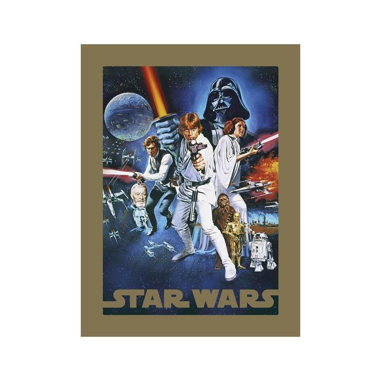A Csillagok háborúja - A New Hope Festmény reprodukció