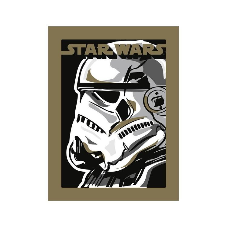 A Csillagok háborúja - Stormtrooper Festmény reprodukció