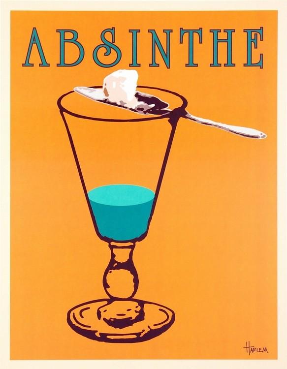 Absinthe Festmény reprodukció