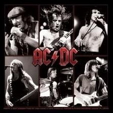 AC/DC - live - adesivi in vinile