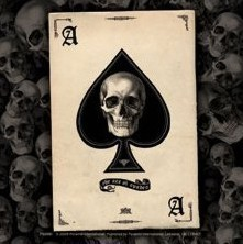 ACE OF SPADES - adesivi in vinile