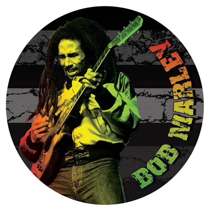 Adesivi Murali Bob Marley.Bob Marley Guitar Adesivi In Vinile
