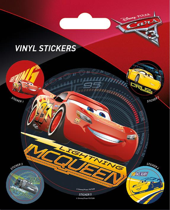 Cars 3 - Lightning McQueen - adesivi in vinile