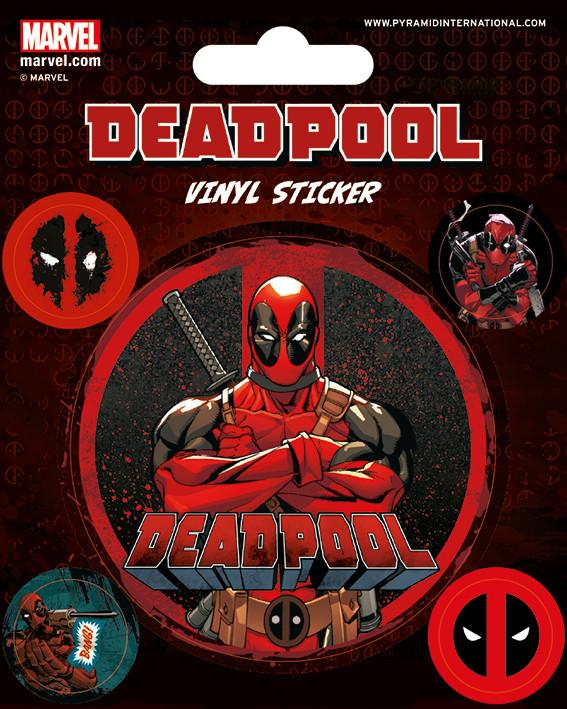 Deadpool - adesivi in vinile