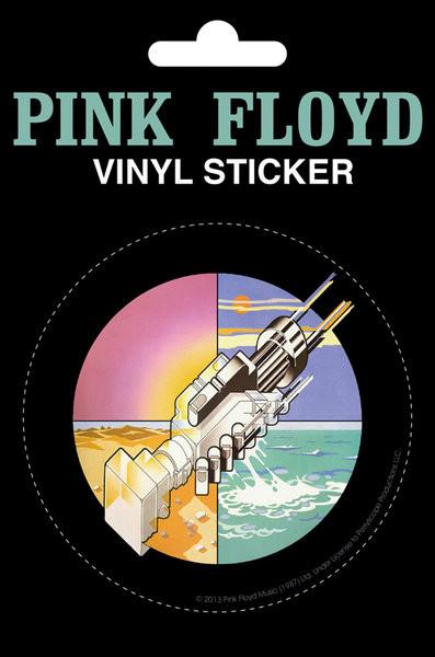 Pink Floyd - Wish You Were Here - adesivi in vinile