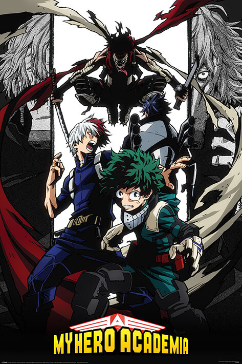 Poster My Hero Academia - Hero Killer Stain