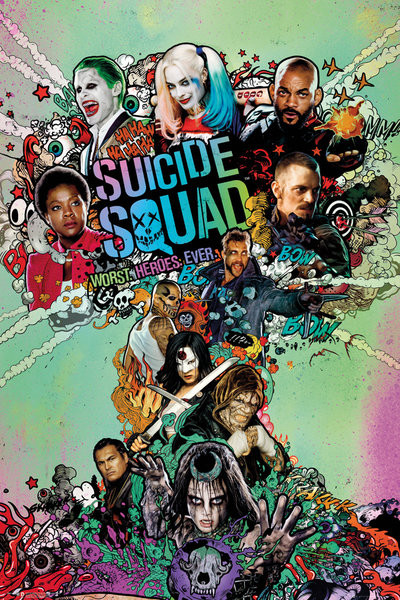 Suicide Squad - One Sheet Poster, Affiche | All poster chez Europosters