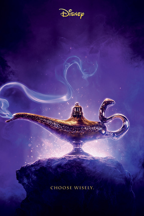 Aladdin - Choose Wisley Poster