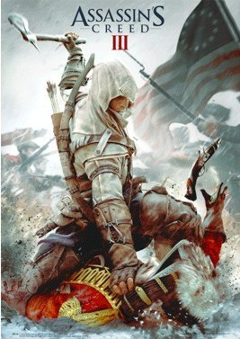 Assassin's Creed III. - cover Poster en 3D