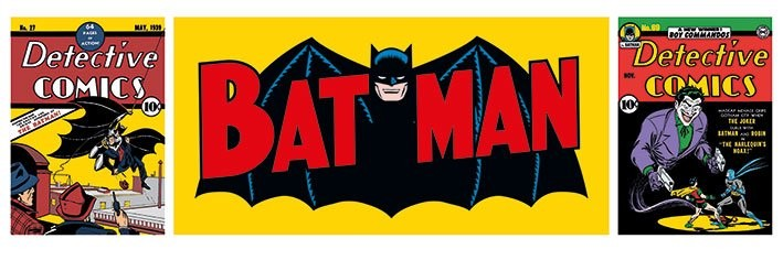 Batman - Triptych Affiche