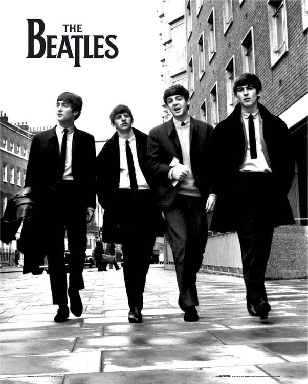 Beatles - in london Poster