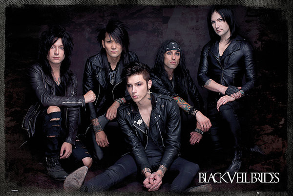 Black Veil Brides - Group Sit Affiche