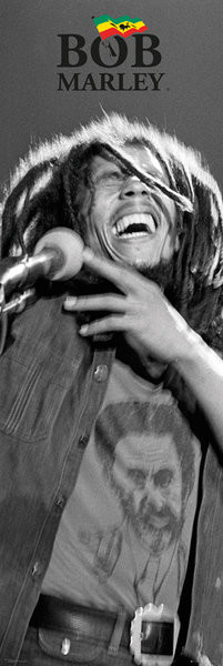 Bob Marley - Black and White Poster