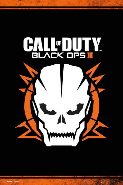 Call of Duty: Black Ops 3 - Skull Poster
