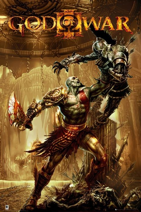 GOD OF WAR 3 - pick up Poster
