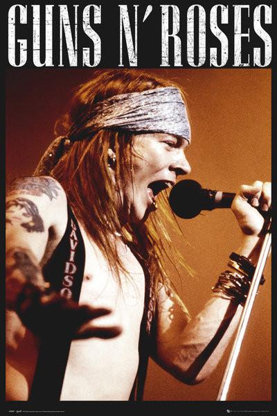 Guns'N'Roses - Axel Poster