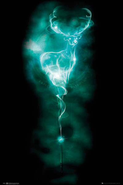 Harry Potter - Patronus Stag Poster