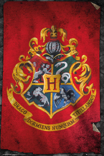 Harry Potter - Poudlard Poster