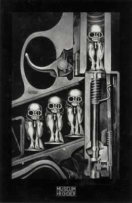 Hr Giger- birthmachine Poster
