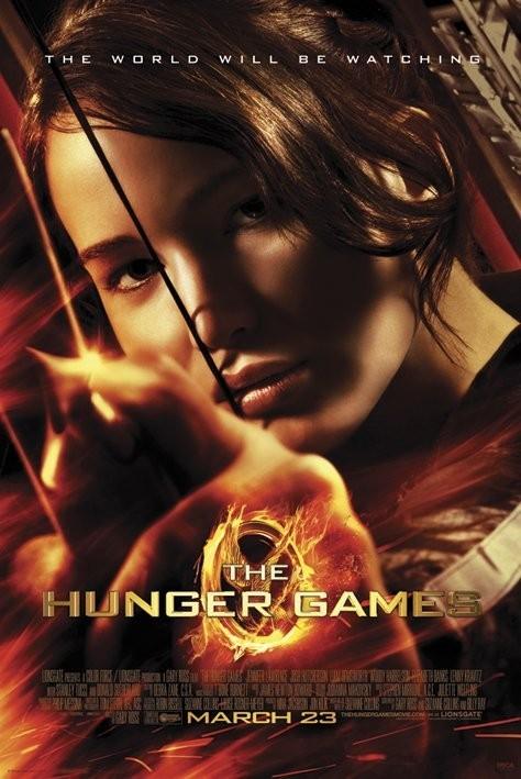 HUNGER GAMES - aim Poster