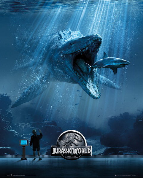 Jurassic World - Mosa-One-Sheet Affiche