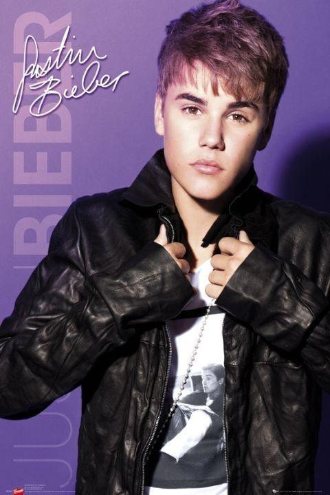 Justin Bieber - collar Poster