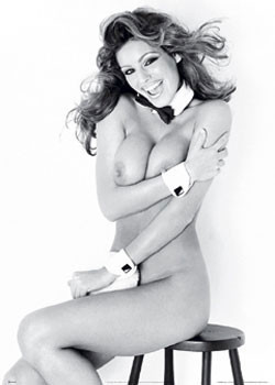 Kelly Brook – playGirl Poster