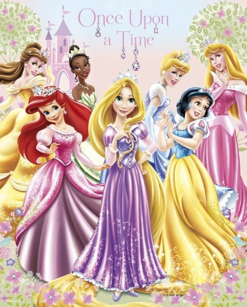 les princesses disney poster affiche acheter le sur. Black Bedroom Furniture Sets. Home Design Ideas