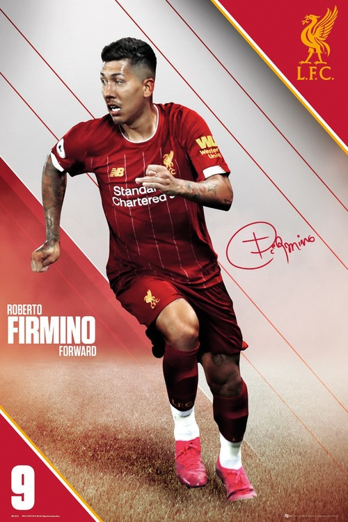 Liverpool - Firmino 19-20 Poster