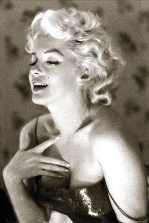 Marilyn Monroe - glow Poster