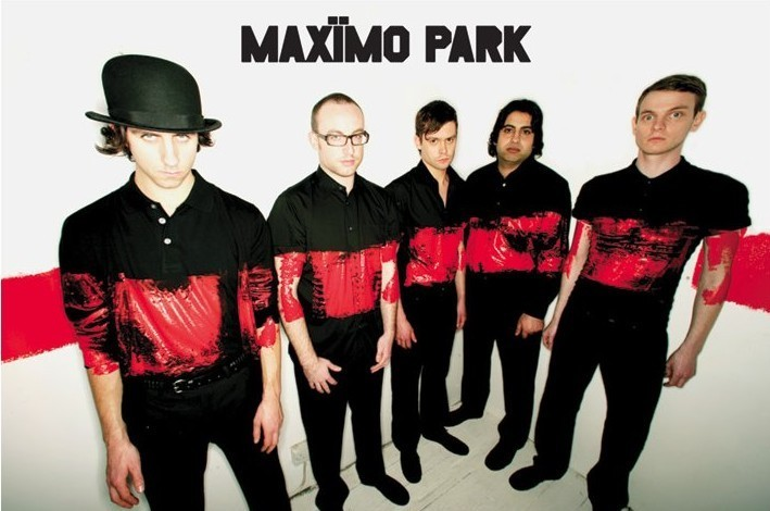 Maximo park - paint Poster