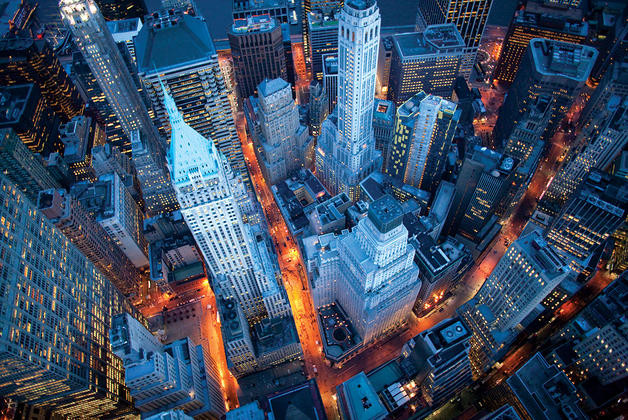 New York - Cameron Davidson Affiche