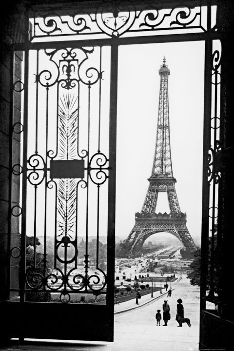 paris gates poster affiche acheter le sur. Black Bedroom Furniture Sets. Home Design Ideas