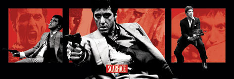 SCARFACE - armas de fuego Affiche