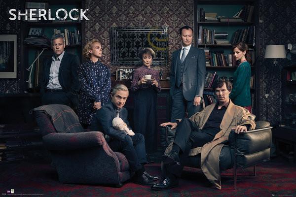 Sherlock - Cast Poster
