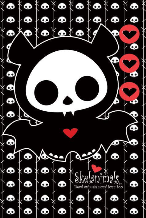 Skelanimals - diego the bat Poster