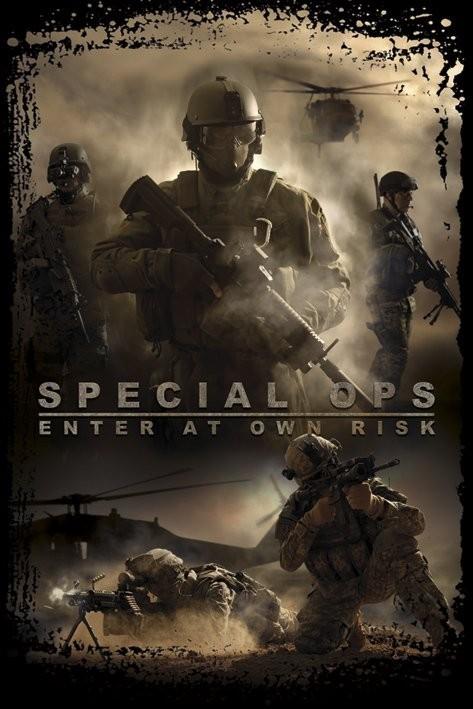 Special Ops -enter at own risk  Affiche