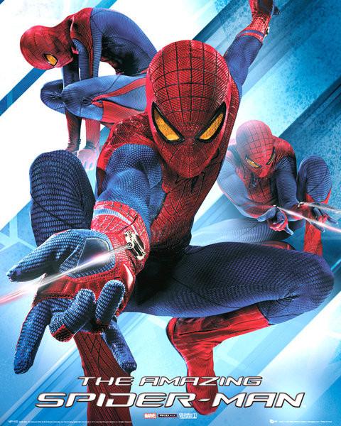 SPIDER-MAN AMAZING - blast Poster