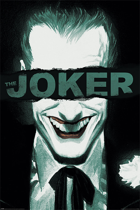 The Joker - Put on a Happy Face Poster
