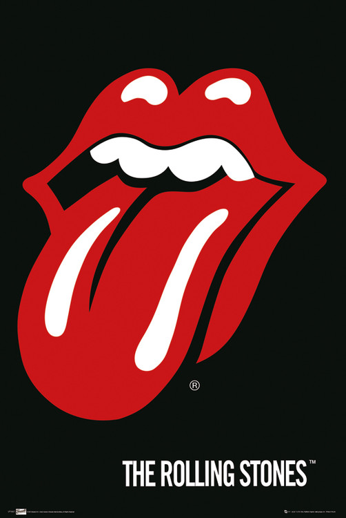 the Rolling Stones - Lips Poster