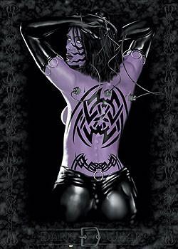 The temptress - woman tattoo Poster