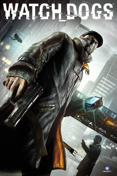 Watch dogs - cover Poster