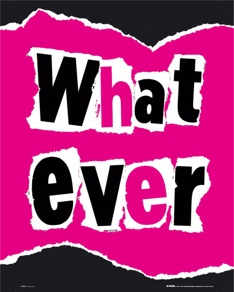 Whatever Affiche