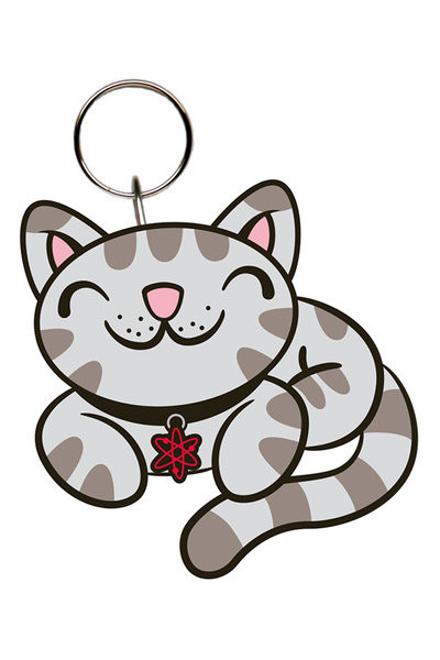 Agymenők - Kitty kulcsatartó